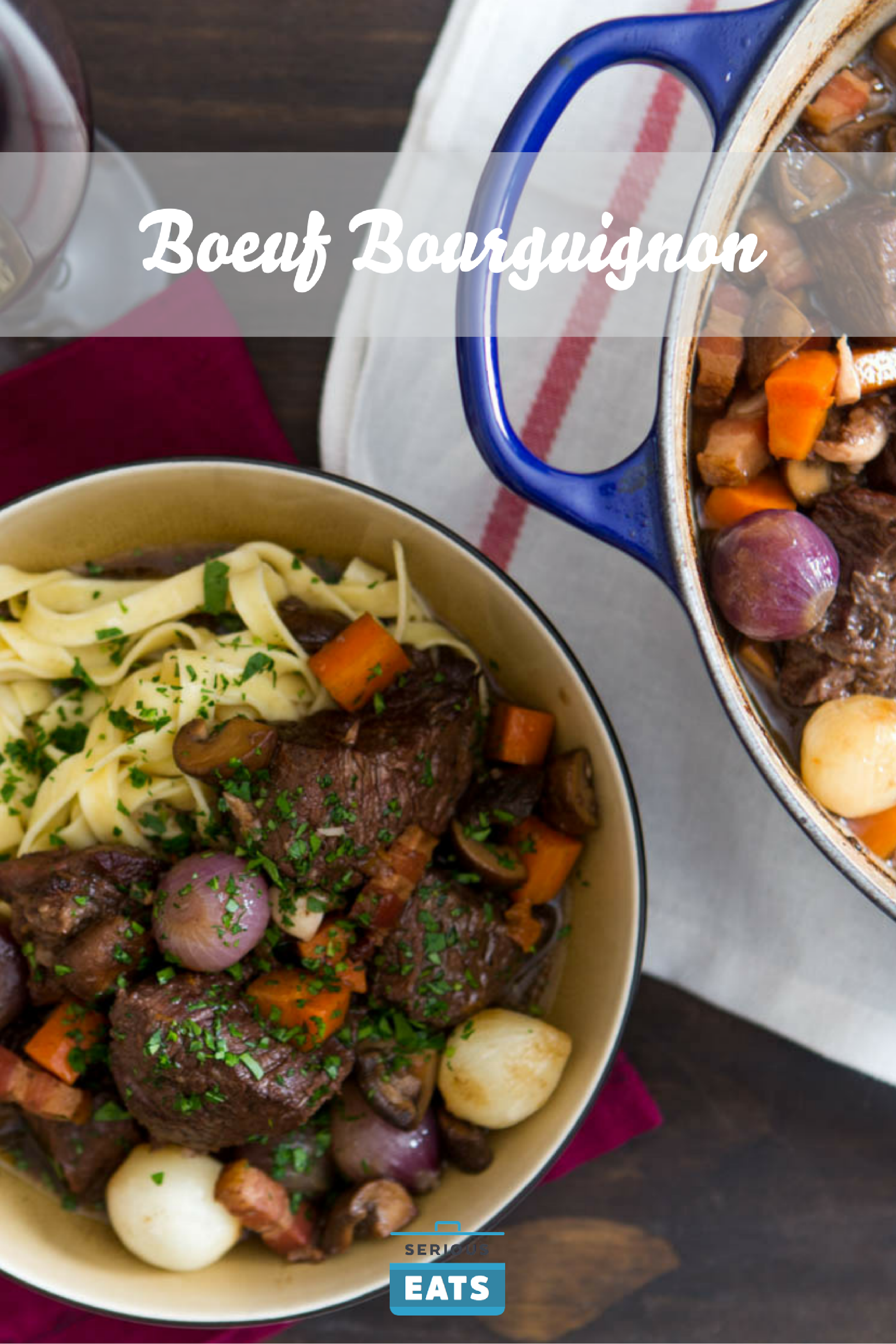 Boeuf Bourguignon Beef Stew With Red Wine Mushrooms And Bacon Recipe Recipe Beef Bourguignon New Easy Recipe Beef