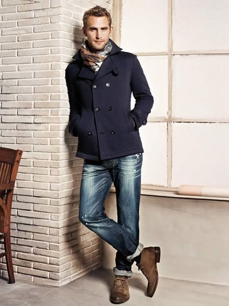 Will Chalker for H.E. By Mango FW 2012