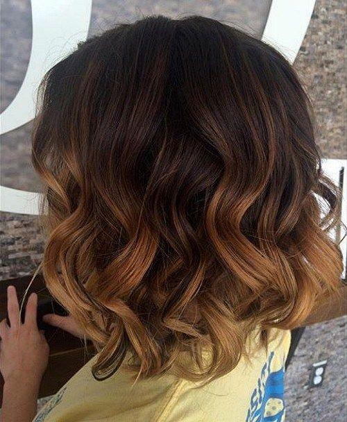 40 on trend balayage short hair looks long brown bob. Black Bedroom Furniture Sets. Home Design Ideas