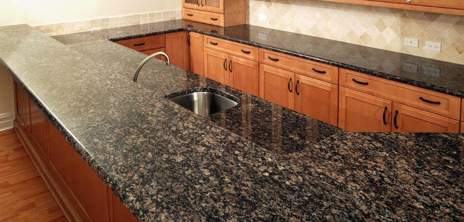 Sapphire Brown Granit Arbeitsplatten http\/\/wwwgranit - küchenarbeitsplatten online bestellen