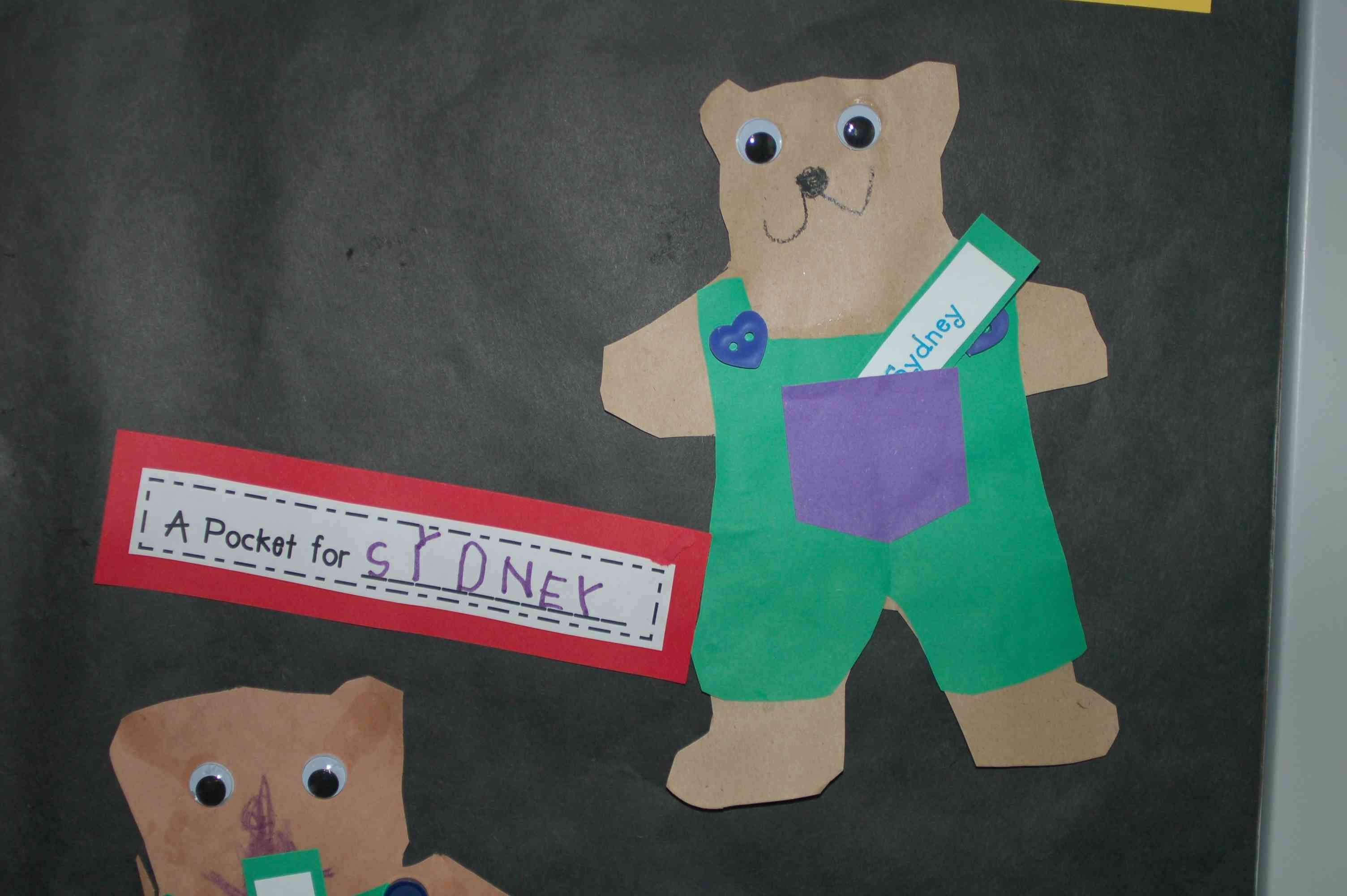 Bears A Pocket For Corduroy