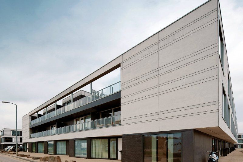 Equitone Facade Materials The Netherlands Eindhoven