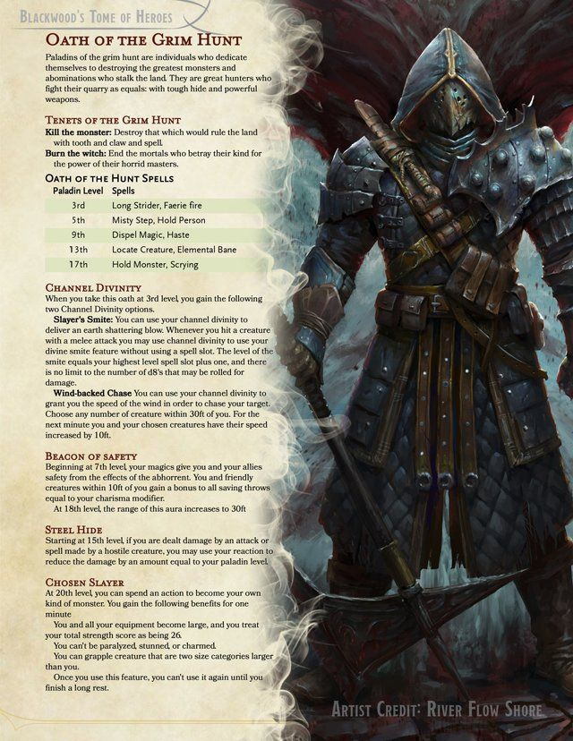 https://www.reddit.com/r/UnearthedArcana/comments/be9i3w/oath_of_the_grim_hunt_a_p…   Dungeons ...