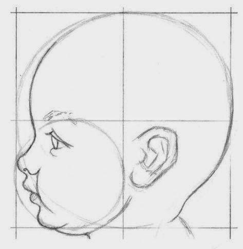 رسم رضيع بقلم الرصاص للمبتدئين Dz Fashion Pencil Art Drawings Art Drawings Simple Face Drawing