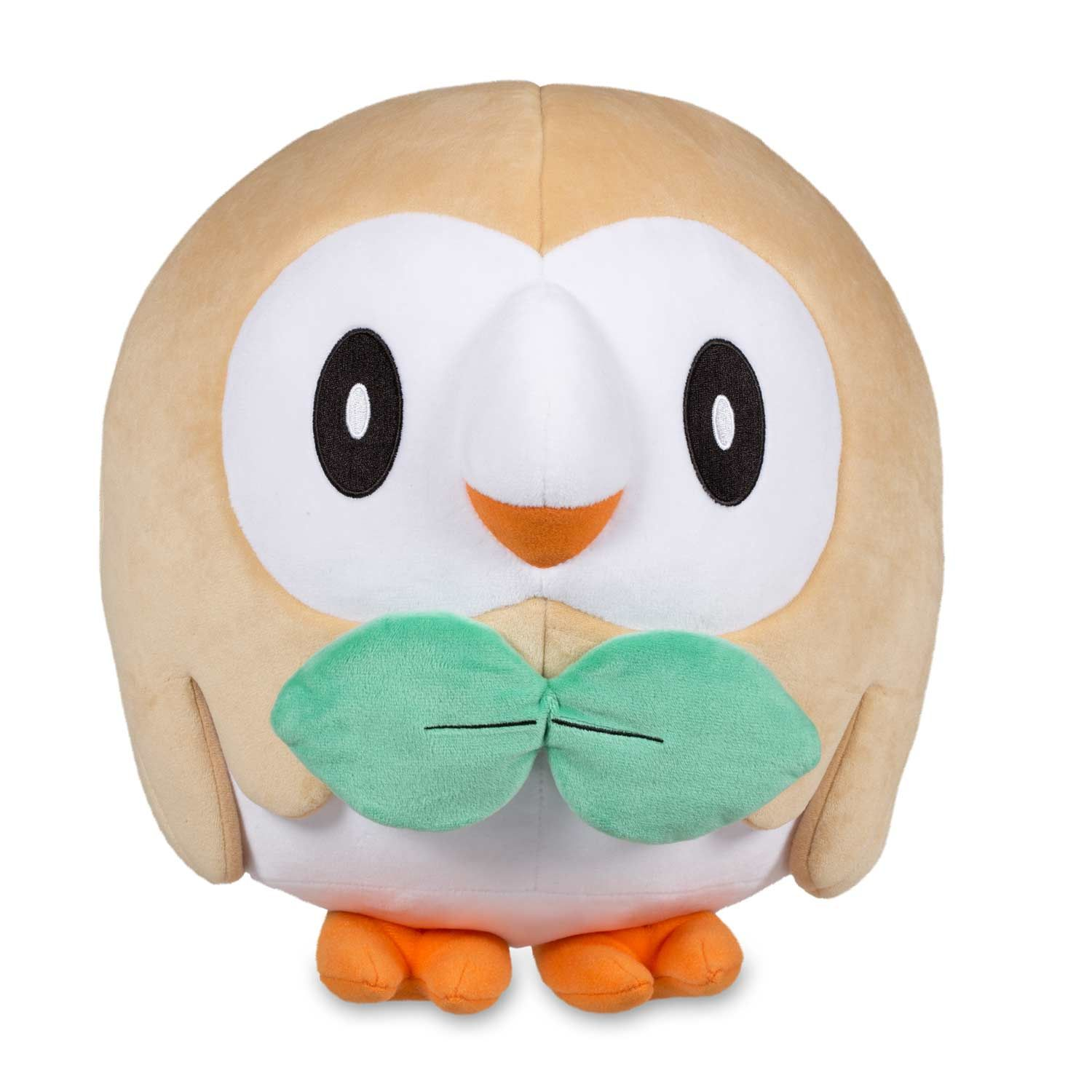 Official Rowlet Jumbo Sized Plush 11 Inches Tall And Very Round