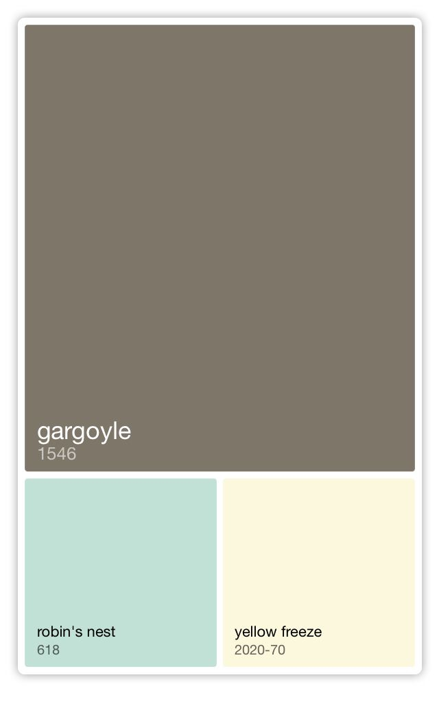 Benjamin Moore 1546 Gargoyle For The Home In 2019 Paint Colors