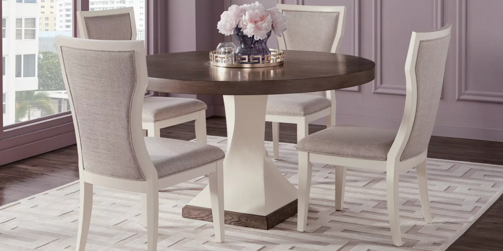 rooms to go option for breakfast nook 54 diameter on rooms to go dining room furniture id=59695