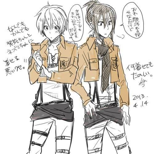 Find attack on titan images discovered by Mica_Hyakuya