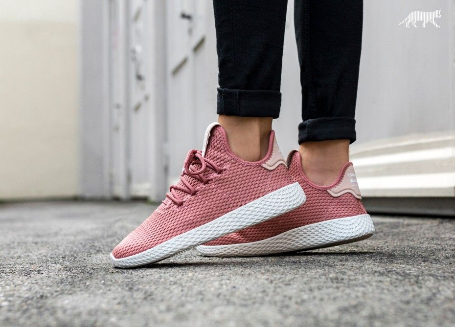 95cf02ee6 Pharrell Williams x adidas Tennis HU Ash Pink