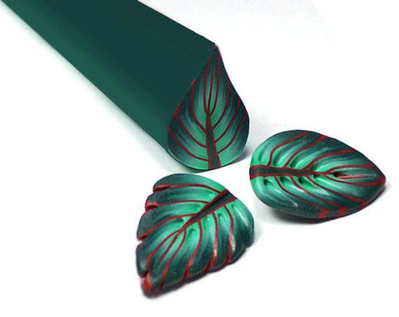 16 Leaf Canes, eBook Polymer clay tutorial, millefiori, pdf. $20.00, via Etsy.