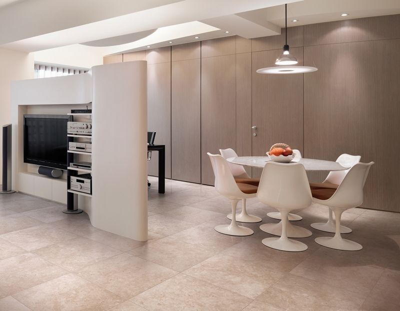 Refin 'Pietra Di Borgogna Sabbia' | Limestone Inspired Porcelain | Available at Ceramo