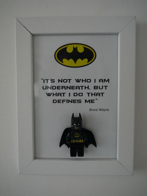 Cadre déco original Batman | Quotes | Pinterest