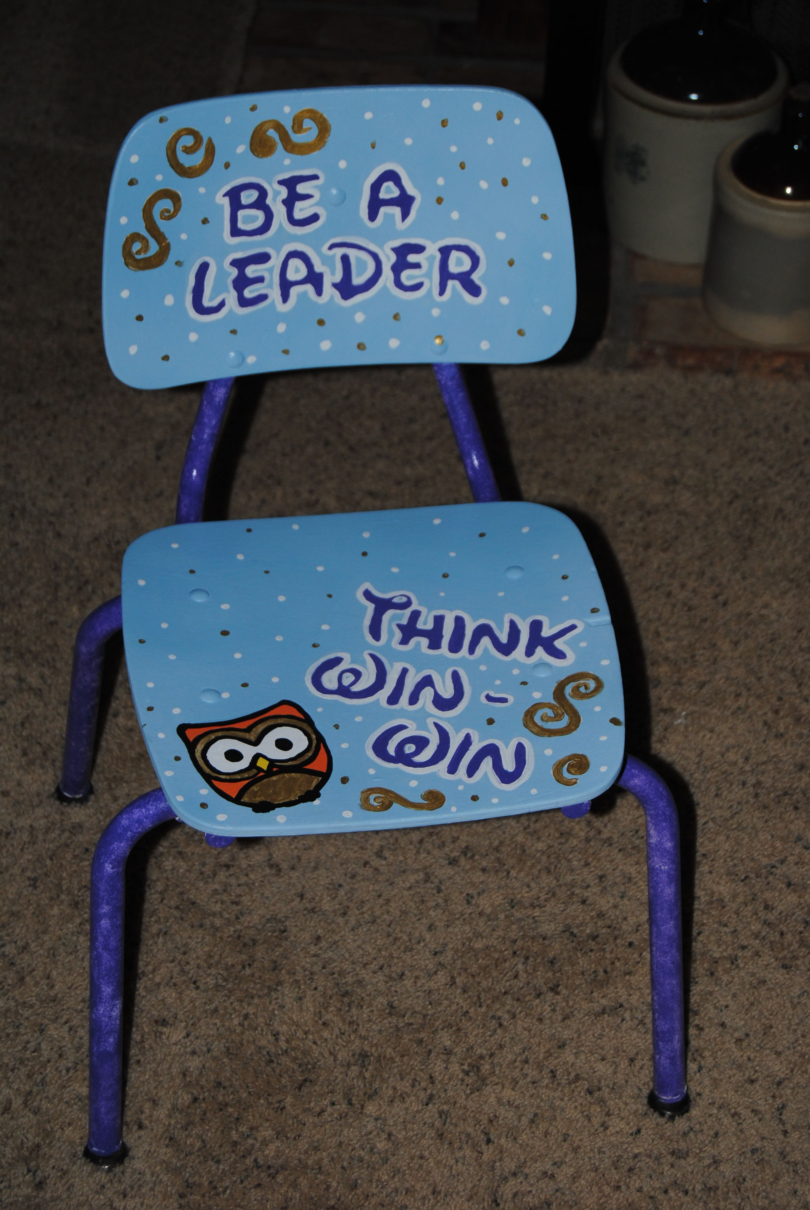 7 Habits Chair Think Win Win