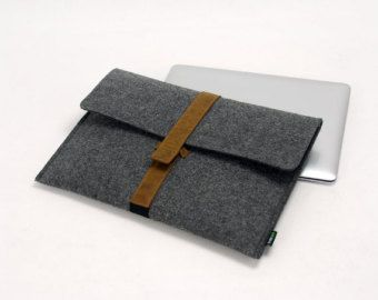 Macbook Sleeve Felt Macbook Case 13'' Macbook Cover 13'' by LOIOL