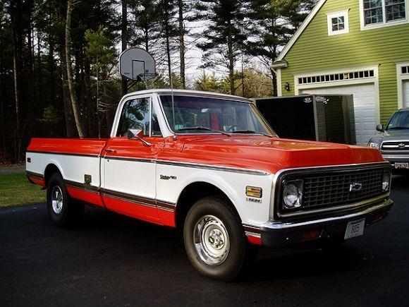 Original Paint 1971 Chevrolet C10 Deluxe Pickup Classic Trucks