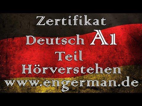 Zertifikat Deutsch A1 | Hörverstehen A1| Modelltest 1 ...