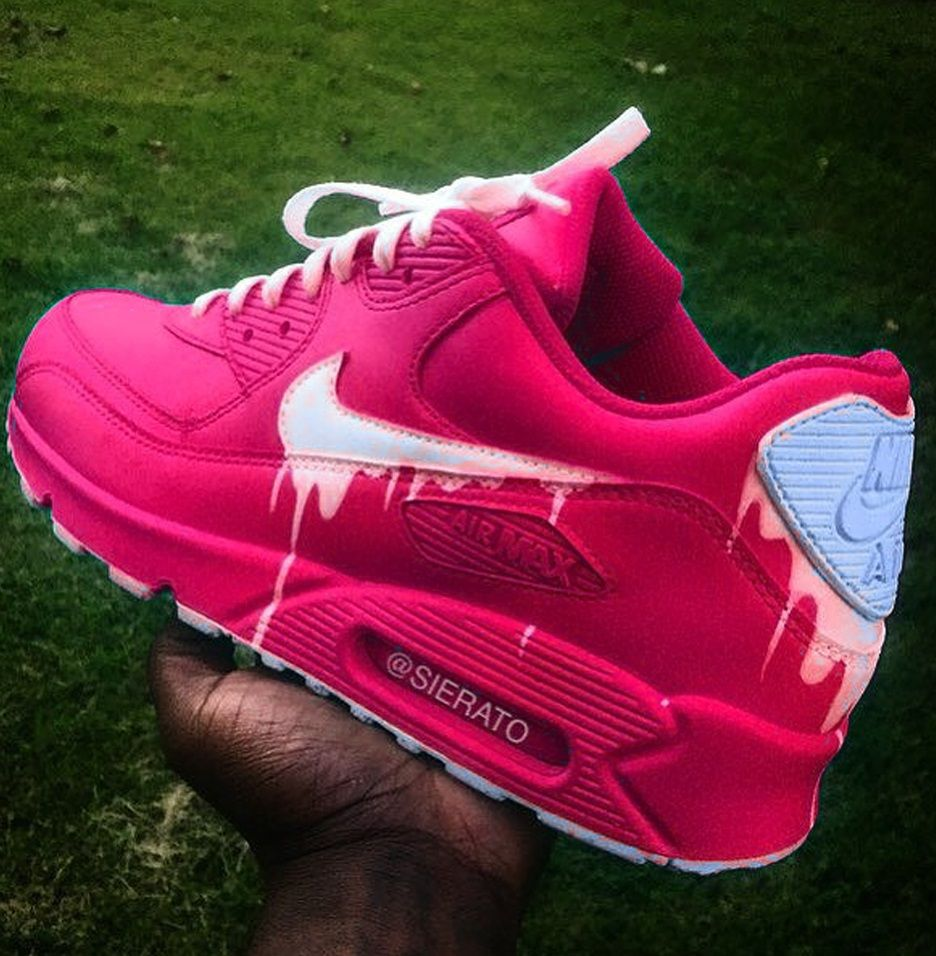 the best attitude b9f26 d97db Nike Air Max 90 Custom