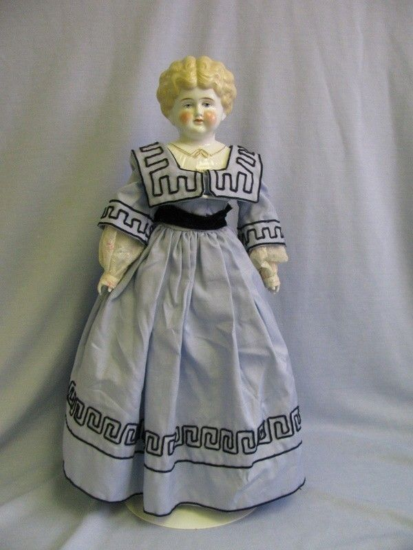 "Early Antique Porcelain Dolls | China Head Doll Ruth | 22"" Early Pet Name ""RUTH"" China head Doll ..."