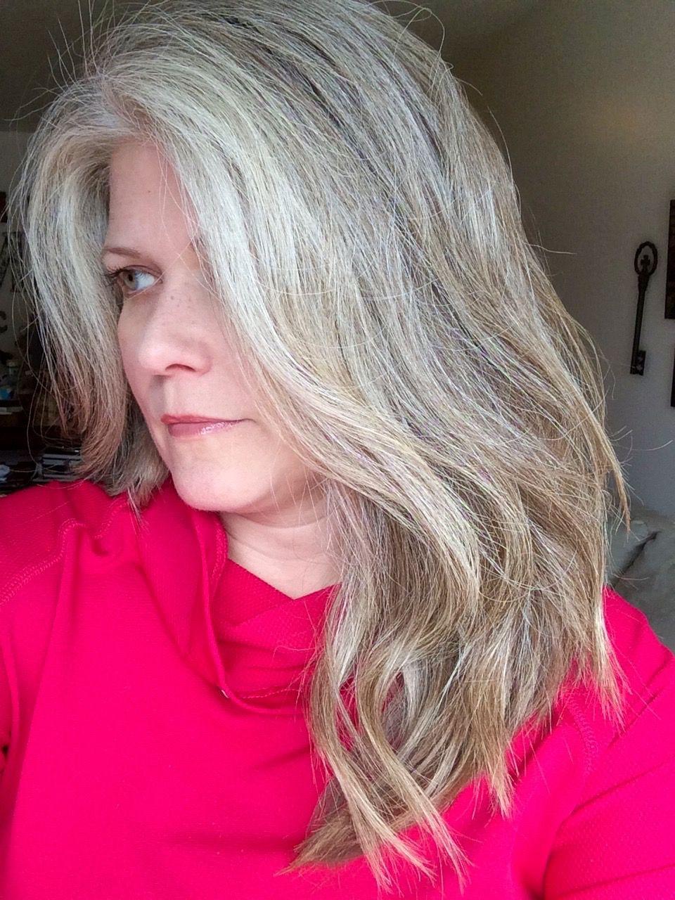 Black Hookup White Lady Toner On Grey