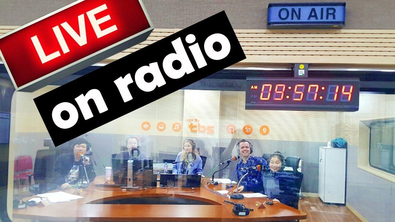 OUR OWN RADIO SHOW? ON KOREAN RADIO! - YouTube