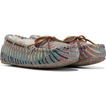 b9f1852d932 Minnetonka Moccasin Women s Britt Trapper Slipper at Famous Footwear   moccasins
