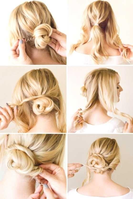 Einfache Frisuren Lange Haare Selber Machen