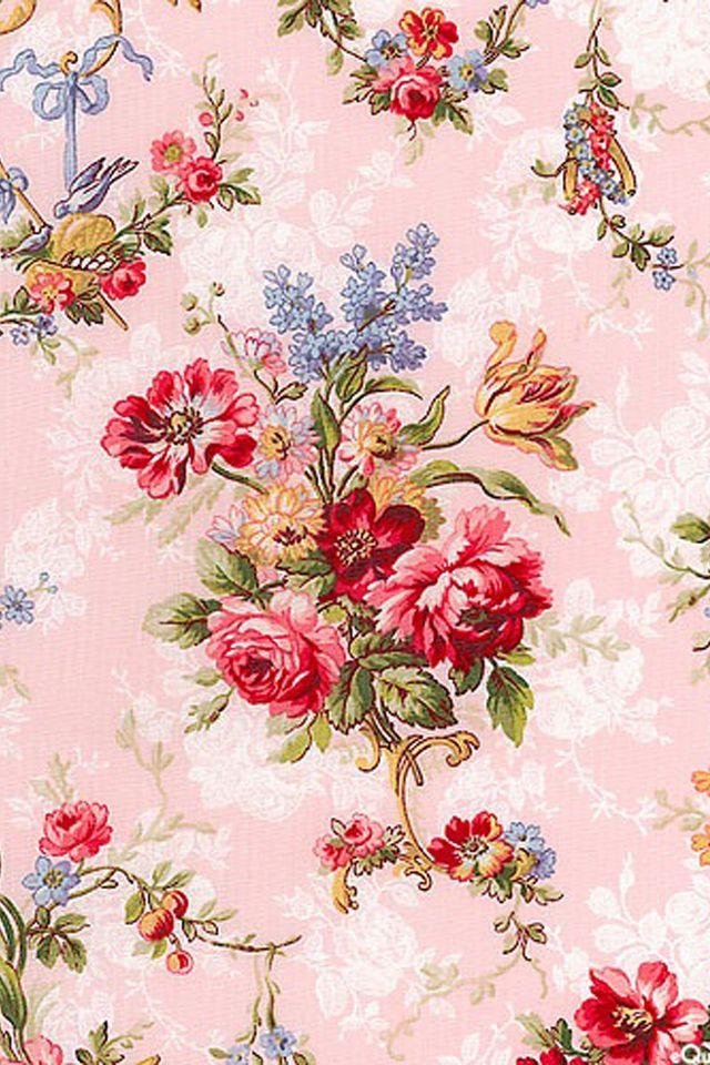 iPhone 6 Wallpaper shabby chic, roses, flowers, ballet
