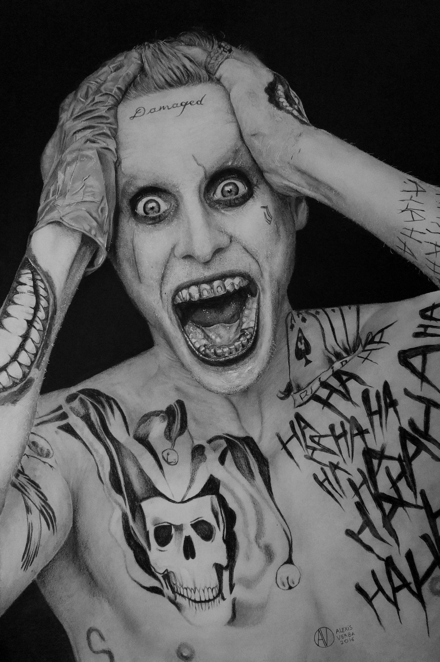 Resultado de imagen para dibujo the joker  dibujos  Pinterest