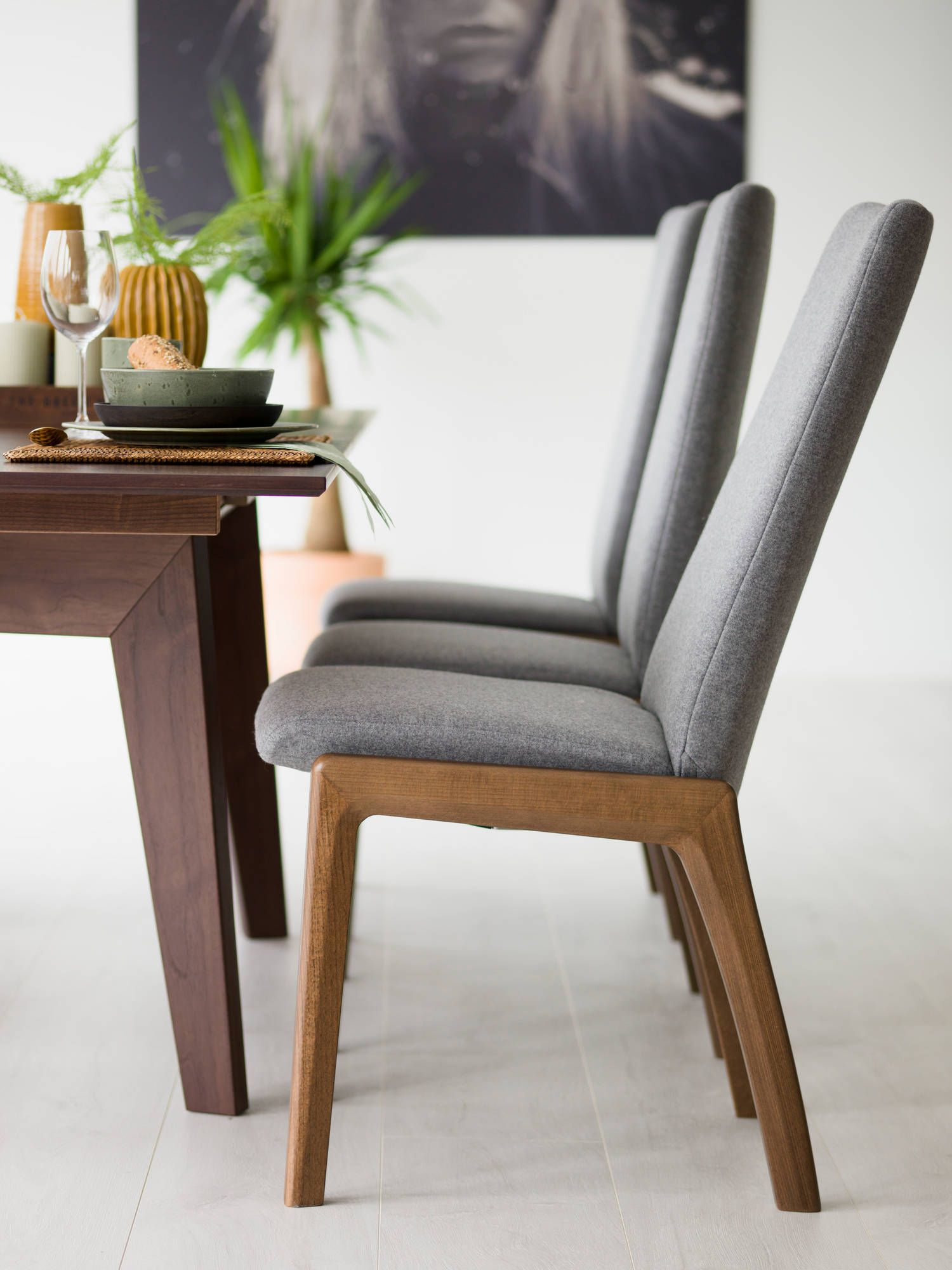 Stressless Rosemary Stressless By Ekornes Dining Chair An Easy Reclining