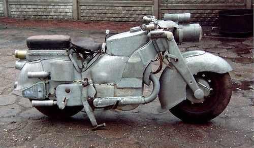 MSS-1  a moto mais feia que eu já vi.