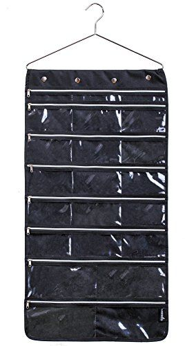 Misslo 44 Pockets Oxford Hanging Jewelry Organizer with Z buy