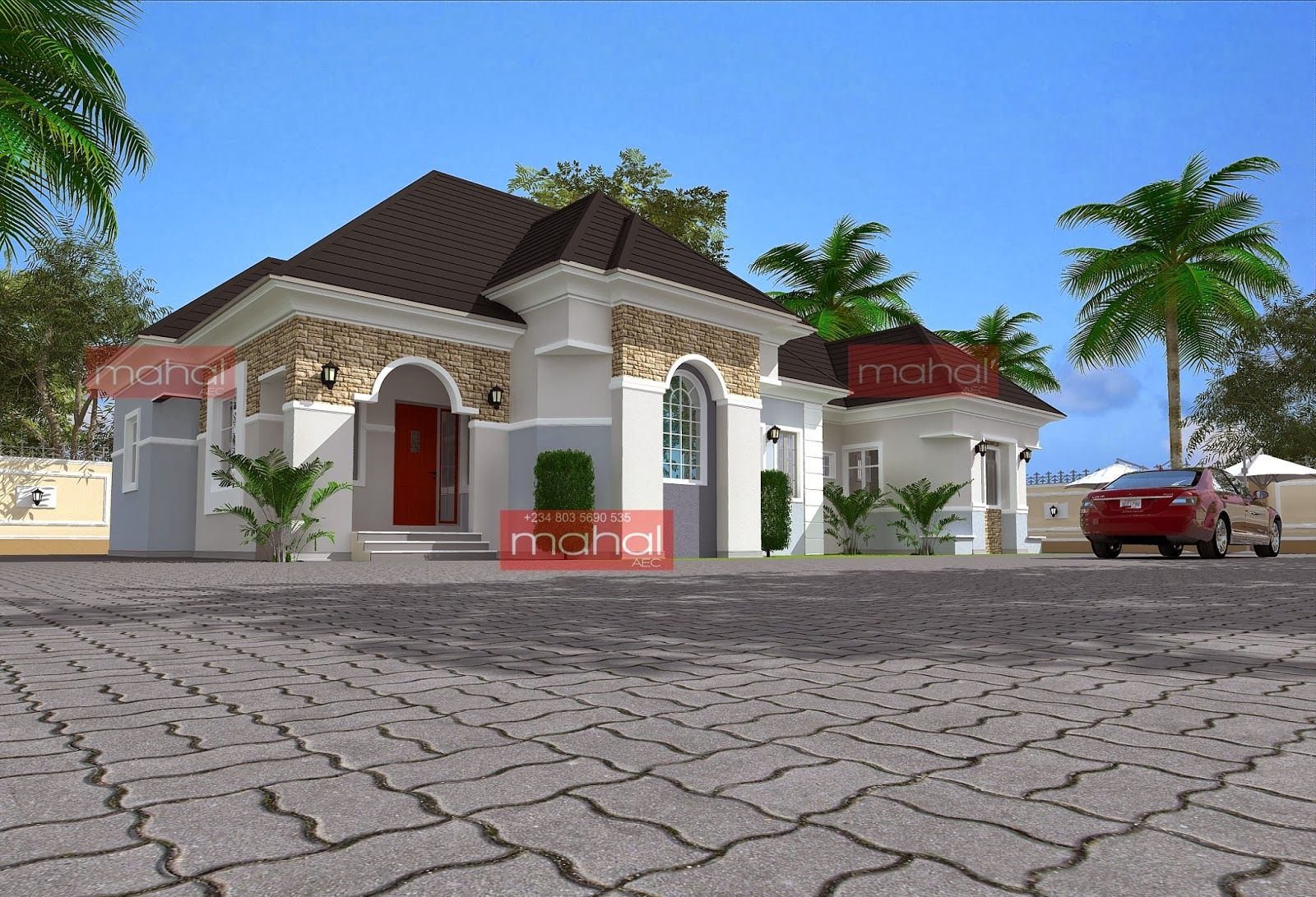 Beautiful bungalow houses in nigeria for Beautiful house designs in nigeria