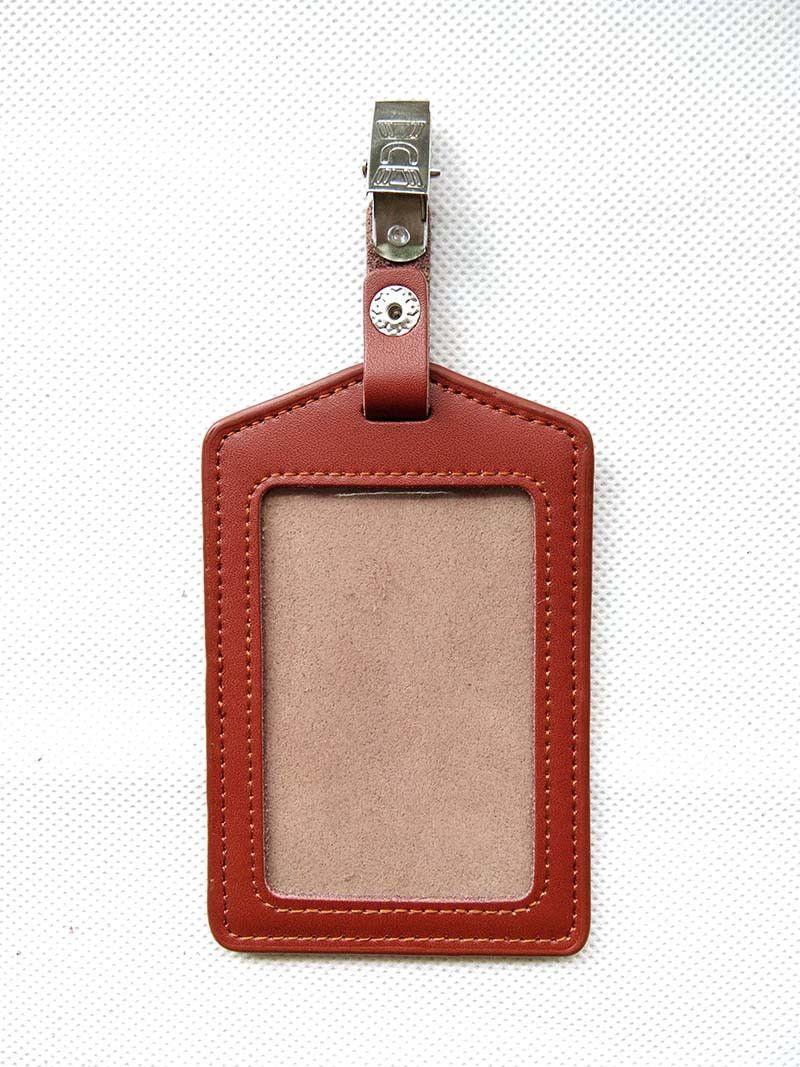 GYREKEN Badge Card Case Business Card Holder Company Office Supply ...