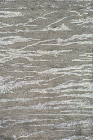 RugStudio presents Momeni Zen ZEN-2 Grey Hand-Tufted, Best Quality Area Rug