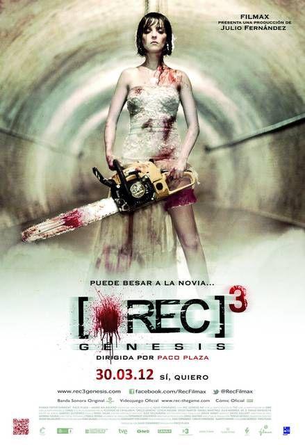 Leticia Dolera Si Difende A Colpi Di Motosega In Questa Clip Di Rec Genesis Horror Movie Posters Best Zombie Movies Movie Posters