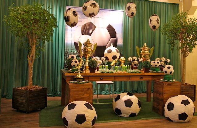 Festa De Aniversario Menino Pesquisa Google Temas De Futebol