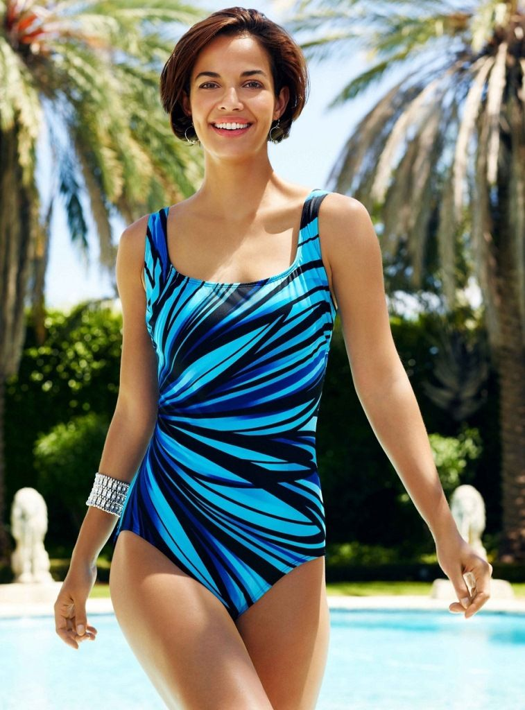 e84b7efcaa2f6 Isis Cross Back One Piece Swimsuit #swim #chicos | SWIM | Swimsuits ...
