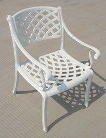 Tons Of Deals Decor Aluminum Outdoor Chair Deluxe Cross Kd Iii