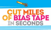 The Unbelievably FAST Way to Cut MILES of Bias Tape!
