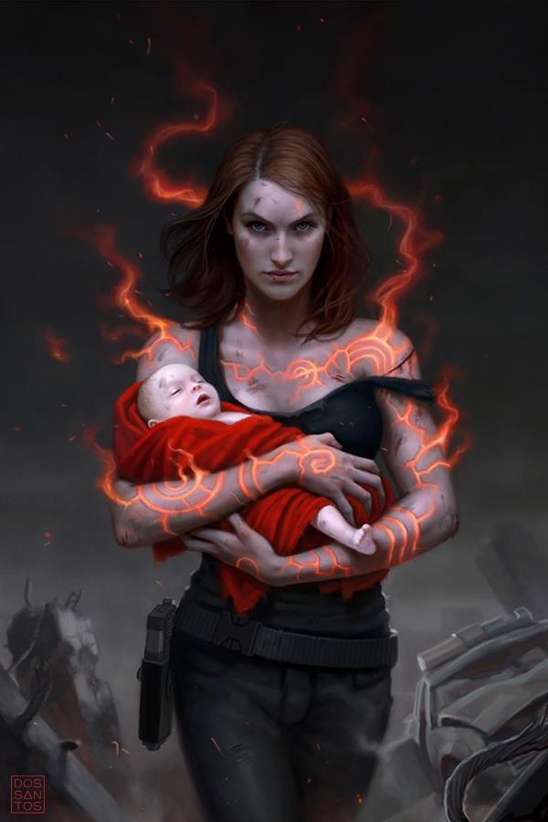 Cover Design for Vengeance of the Demon (Kara Gillian) by Diana Rowland