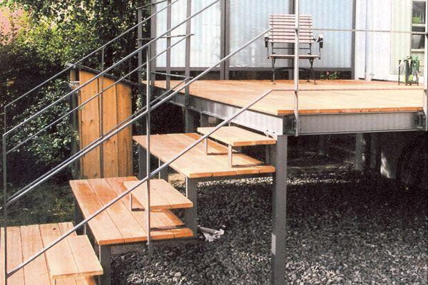 Fenster, Türen, Tore, Treppen, Geländer, Balkone, Vordächer - terrassen gelander design