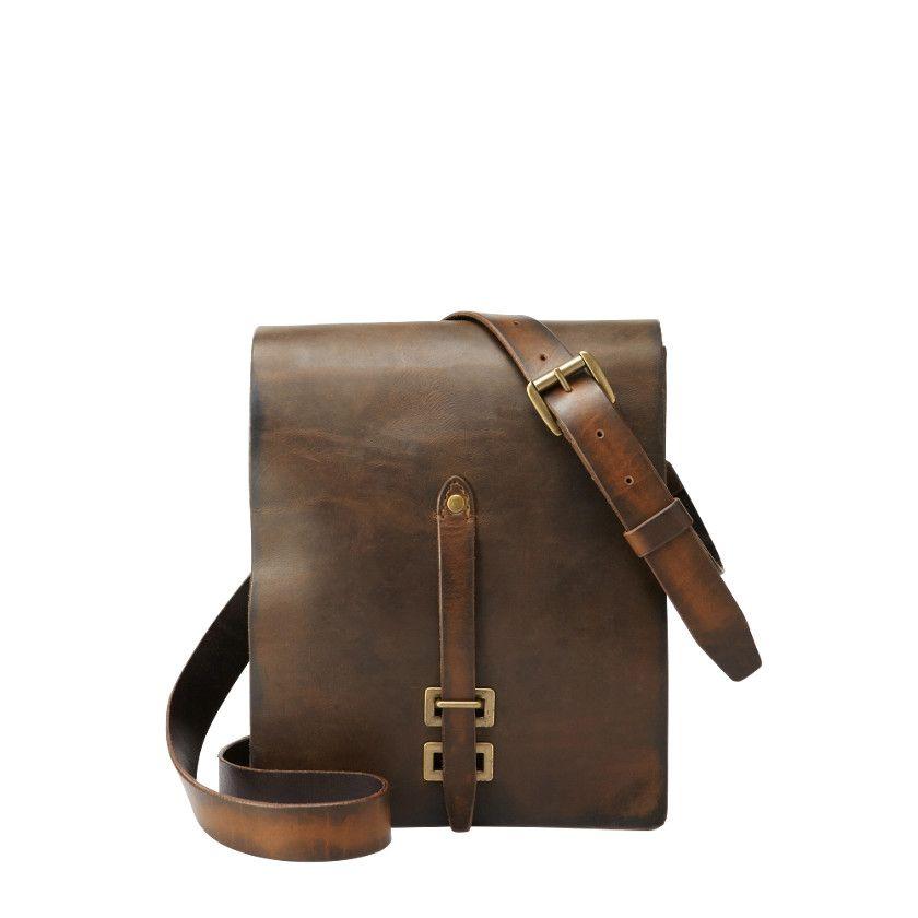 efadb4498008 FOSSIL® Bag Styles City Bags Bag Styles Vintage Archive Officers Bag MBG9135
