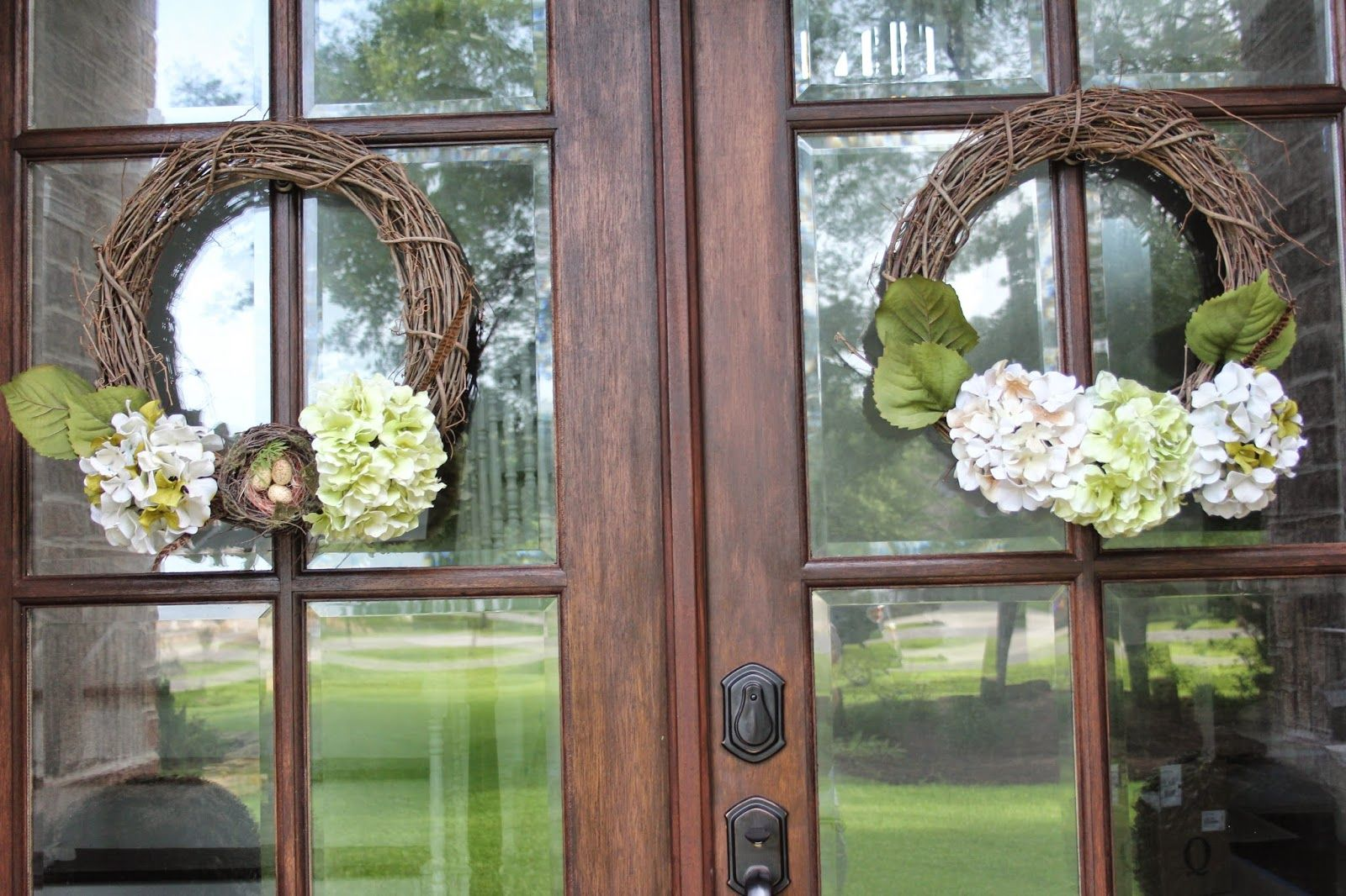My Doors And More With Images Summer Door Wreaths Double