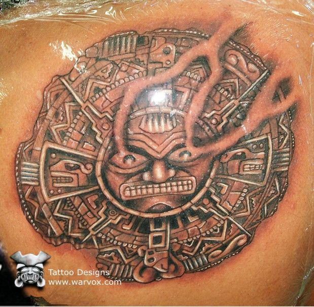 77c2c20d717ec Mayan Sun Tattoo | Aztec Tat. | Sun tattoo designs, Tattoo designs ...