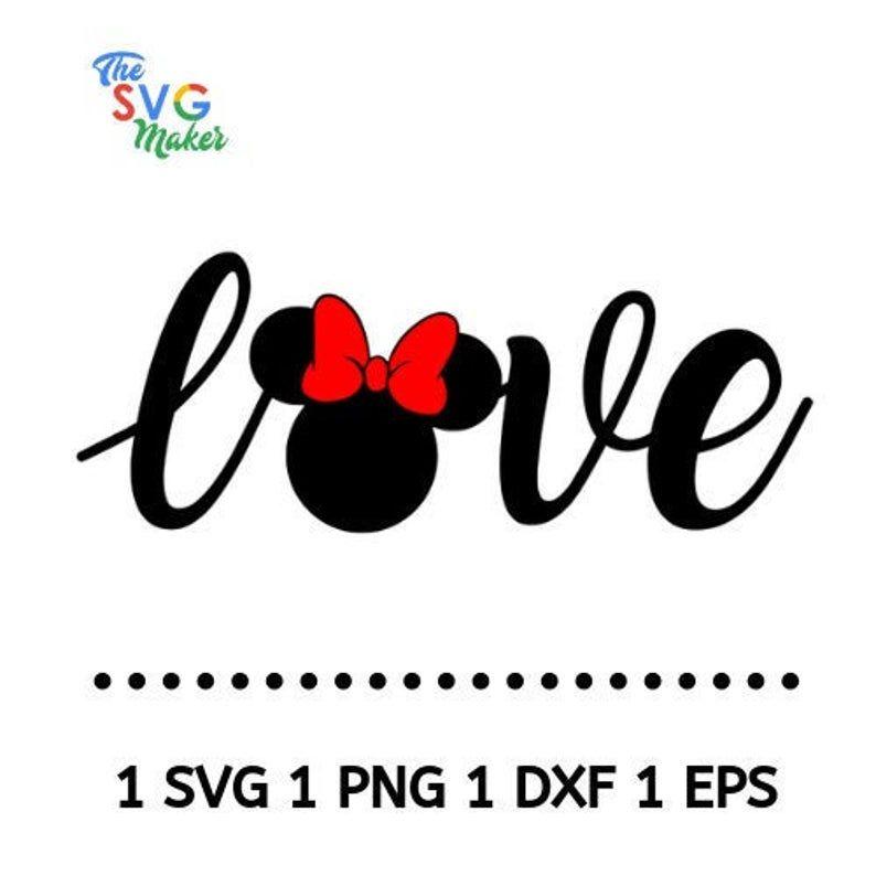 Download Disney svg, disnet svg, love minnie svg, , minnie svg ...