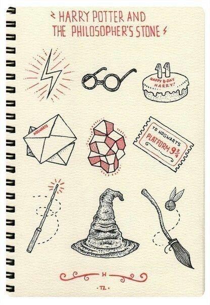 Imagem De Harry Potter And Hp Harry Potter Sketch Harry Potter
