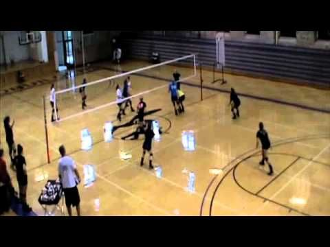 This Volleyball Drill Is As Fun As The Name Implies Get Your Team Moving Talking And Going All Out In Youth Volleyball Indoor Volleyball Volleyball Training