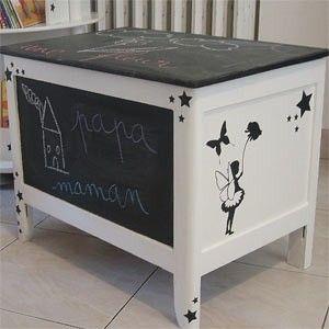 coffre a jouet customisation pinterest maillots de. Black Bedroom Furniture Sets. Home Design Ideas