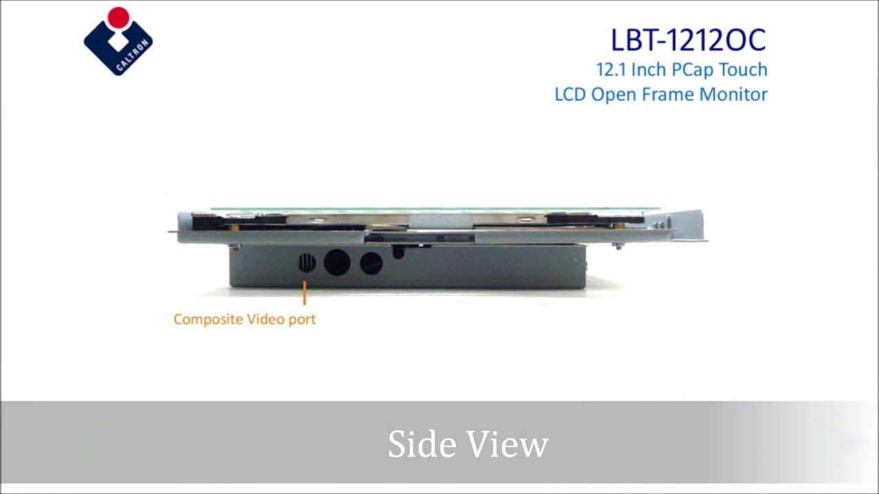 Lbt 1212oc 12 1 Industrial Multi Touch Screen Lcd Monitor Lcd Monitor Touch Screen Multi Touch