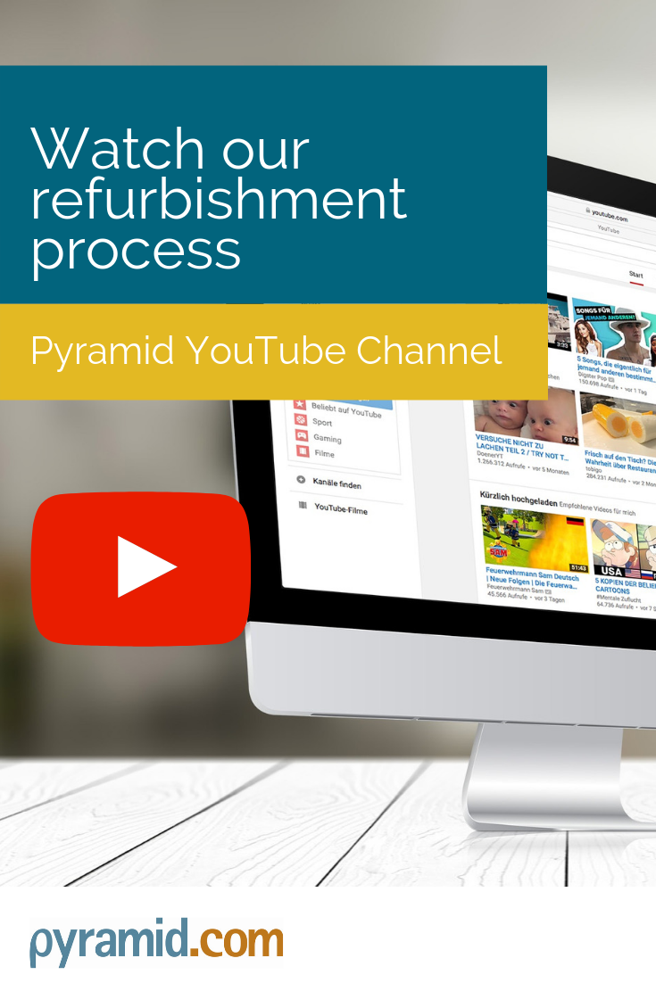 Find Out More About Our Refurbishment Process In This Short Video From Our Pyramid Warehouse We Believe Refurbished Is Refurbished Computers Pyramids Videos